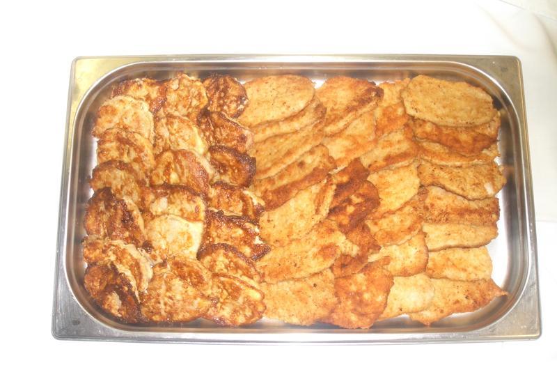 Warme Snackteilchen